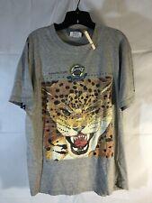 1995 Vintage Jacksonville Jaguars Houston Oilers Inaugural Game Large - T-shirt