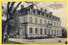 cpa FRANCE 28 - COUDRAY AU PERCHE CHÂTEAU de MONTGRAHAM Côté Nord Castle burg