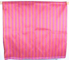 """Polka Dot Stripe Pink Multi-Colored Upholstery Fabric 55"""" x 66"""""""