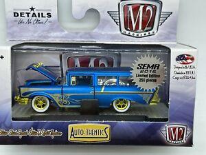 M2 Machines Super/Raw Chase 1957 Chevy 150 Handyman Station Wagon 1 of 250 WW