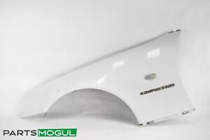 97-00 Mercedes R170 SLK230 Front Left Driver Side Fender Panel White OEM