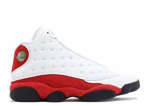 Nike Air Jordan 13 XIII Retro OG Chicago 2017 White Red Black Size 11 414571-122