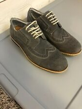 Kenneth Cole Reaction Mens Shoes Blue/Grey Suede Soze 10