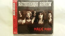 RATTLESNAKE REMEDY Magic Man CD JAPAN +4 DDCJ-3039 INDIE GLAM SLEAZE 2006 s29