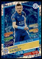 Match Attax Champions League 16/17 Jamie Vardy Leicester Stadt Nr. Lei14