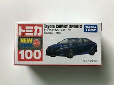 TOMICA 100 TOYOTA CAMRY SPORTS 1/64 TOMY 2019 September New Diecast Car
