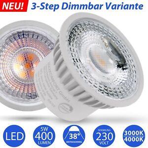 LED Modul MAX Leuchtmittel flach auch Dimmbar 230V Spot Lampe 5W Einbaustrahler