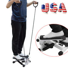 【USA】Stepper Step Exercise Machine Cardio Fitness Trainer Stair Climber Exercise