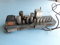 Vintage Tube Power amp chassis Hammond 6V6 model w/ Tubes amplifier