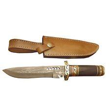 "Pioneer Damascus Steel Hunting Knife Brass Guard 12"" Pt-1460 ( Bogo Sale )"