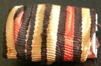 ✚5174✚ German ribbon bar + pin WW1 Hindenburg Honour Cross Without Swords