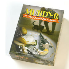 The Brie, The Bullet And The Black Cat Murder Mystery Dinner Party Game