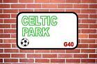 Celtic Park Metal Door Sign