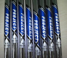 RIFLE PROJECT X 6.5 FLIGHTED 3-PW STEEL IRON SHAFTS LIMITED QUANTITIES NR