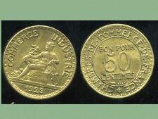 50 ct  1923  CHAMBRE DE COMMERCE  SUP