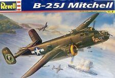 Revell 1/48 Scale B-25J Mitchell Plastic Model Kit 85-5512 Factory Sealed