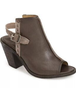 $350 Frye Izzy Artisan/Vintage Leather Slingback Ankle Bootie 6.5 ~ Worn 1x!