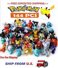 Pikachu Pokemon144 Mini Figures Pokémon Toys KID GIFT  >>FREE EXPEDITED SHIP<<