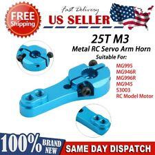 25T M3 Metal RC Servo Arm Horn Suitable for MG995 MG946R MG996R MG945 S3003