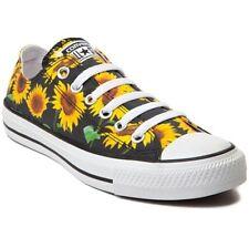 Converse Chuck Taylor All Star Sunflower Floral Low Top Girls Sz 13 RARE! NEW!