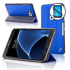 Leather Blue Folding Smart Case Samsung Galaxy Tab A 7.0 Screen Prot & Stylus