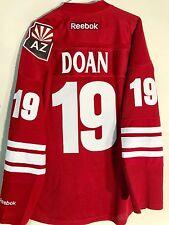 Reebok Premier NHL Jersey Arizona Coyotes Shane Doan Burgundy sz L