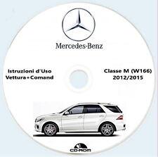 Mercedes Classe M (W166) istruzioni d'uso,Mercedes ML