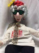 "Rare 25"" Hallmark Talking Maxine Poseable Plush Doll Max1266 New With Tags"