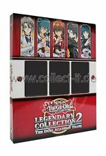 YUGIOH-Legendary Collection 2 Ring Binder vuoto