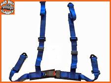 4 Point Bleu Racing Voiture Ceinture harnais bretelles réglables conception universelle