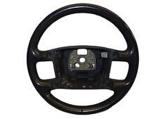*VW TOUAREG 2003-2010 4 SPOKE ANTHRACITE LEATHER STEERING WHEEL 3D0419091K 7B4