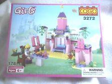 Cogo Magibrix Girls castle Building block castle set, 6+, 178 pieces