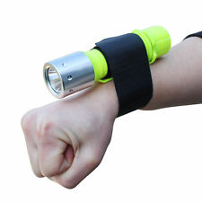 LED Diving Flashlights CREE T6 Lamp Underwater Torch Light With Wrist Strap
