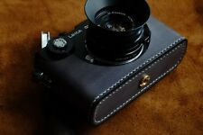 Leather Grey Half Case for Leica CL (with matching Strap) - BRAND NEW