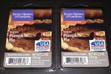 Better Homes & Gardens Scented Wax Cubes SPICED PUMPKIN PIE / 2 Packs