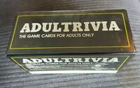 ADULTRIVIA Retro Card Game Trivial Pursuit Rude Adult Naughty NSFW 1984 NEW