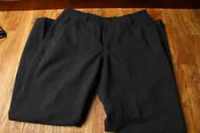 Under Armour Pants 34/30 Golf Pants Straight Leg Black Style 1248089
