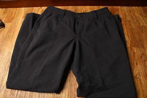 Under Armour Pants 34/30 Golf Pants Straight Leg Black Style 1248089