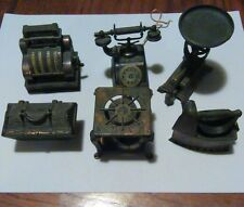old pencil sharpeners lot copper lot of 6
