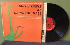 """Miles Davis """"At Carnegie Hall"""" LP Six Eye CL 8612 Mono VG+ John Coltrane DG"""