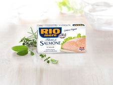 RIO MARE SALMON FILLETS IN BRINE 4 X 150g CANS - ITALY - FREE SHIPPING