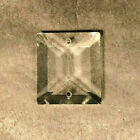 New 1' Clear Crystal Square Top Bead For Colonial Prisms w/ 2 Holes #PB045