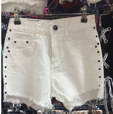 BLACK KOREAN STRETCHABLE DENIM SHORT XL