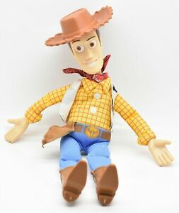 "Burger King Toy Story Woody Loose 9"" Plush Doll Walt Disney"