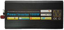 1000W/2000W (Peak) Pure Sine Wave Power Inverter 12V DC to AC With Remote