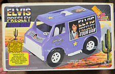 ELVIS PRESLEY TOUR VAN 1984 LAPIN TOYS COMPLETE MINT UNUSED WITH BOX