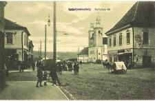 Transylvania WWI 1916 Odorheiu Secuiesc,Székelyudvarhely,animated street scene!