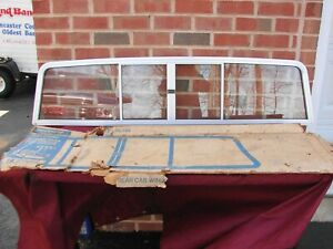 1973-1987 CHEVROLET C/K R/V TRUCK NOS SLIDING REAR WINDOW PRESTIGE ALUMINUM PROD