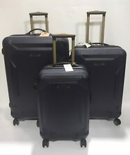 NEW TIMBERLAND FORT STARK LIGHTWEIGHT 3PC EXPANDABLE LUGGAGE SET SPINNERS NAVY