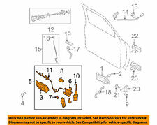 9L5Z-10219A65-AA  Front Door-Lock Latch Kit.  2004-11 Ranger. GENUINE FORD. NEW.